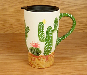 Fish Creek Cactus Travel Mug
