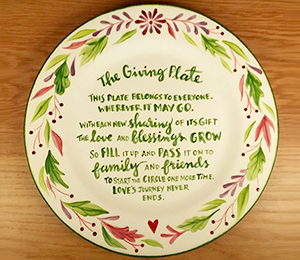 Fish Creek The Giving Plate